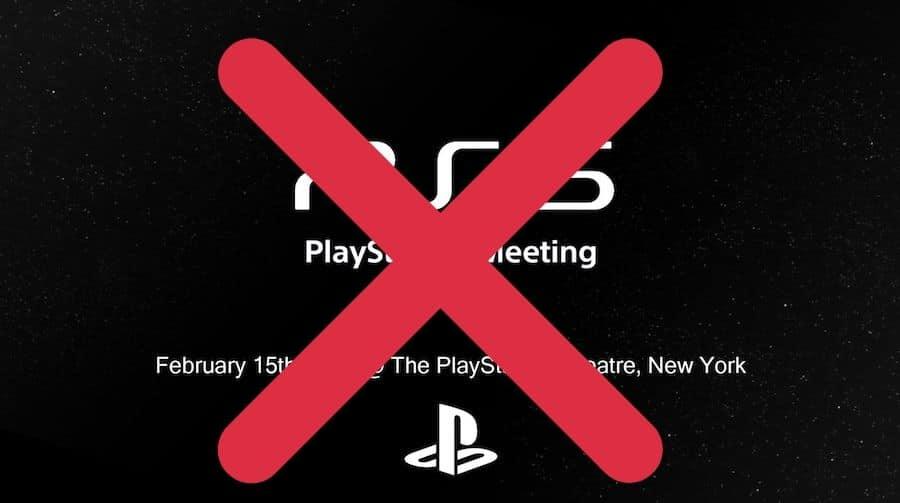 Une faux tweet annonçant une présentation de la PS5 le 15 février