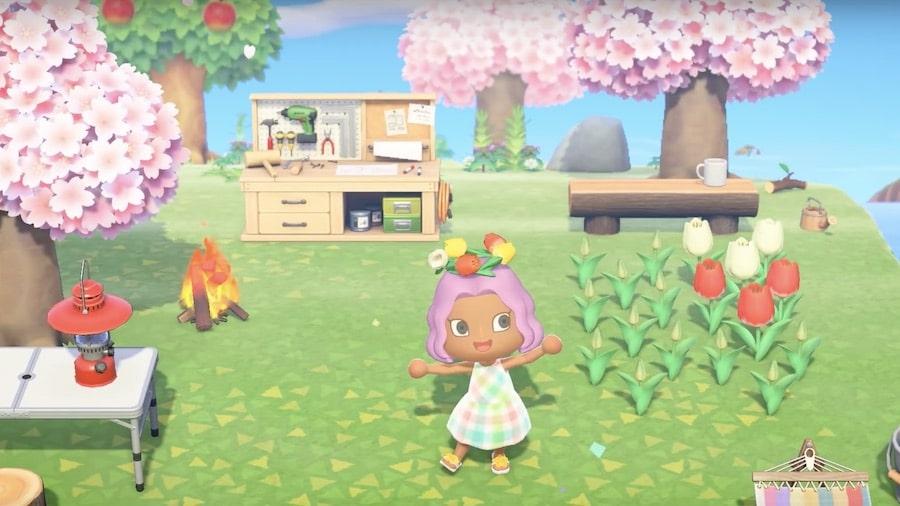 Les nouveautés dans Animal Crossing New Horizons